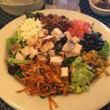 Uncle Julios Fajita Chicken Cobb  salad [approx]